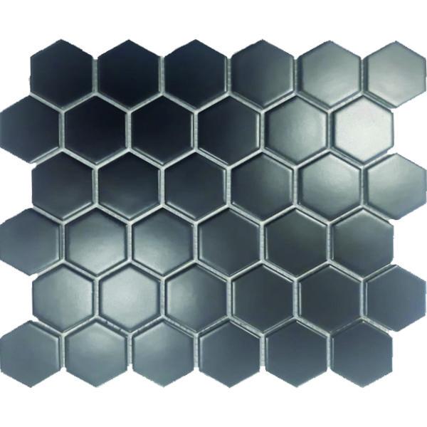 hexagonal black