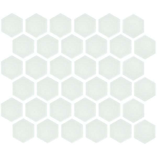 hexagonal white